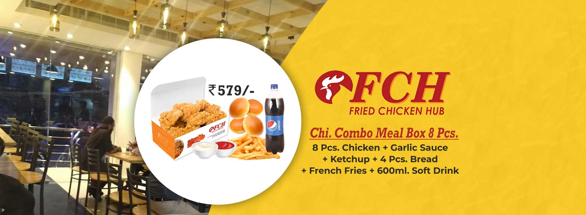 Fried Chicken Hub Toli Chowki